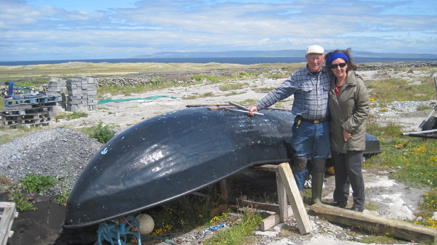 Paraic and the currach (1)