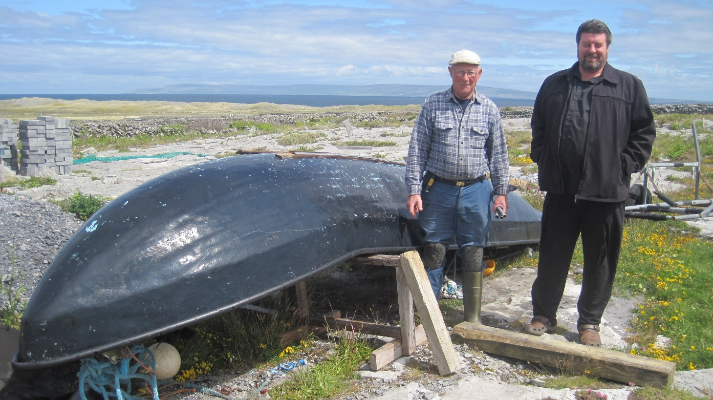 Paraic and the currach (5)