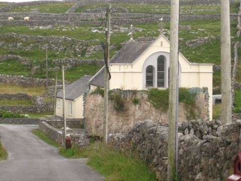 18 July 2014 Church Inis Meàin (2)