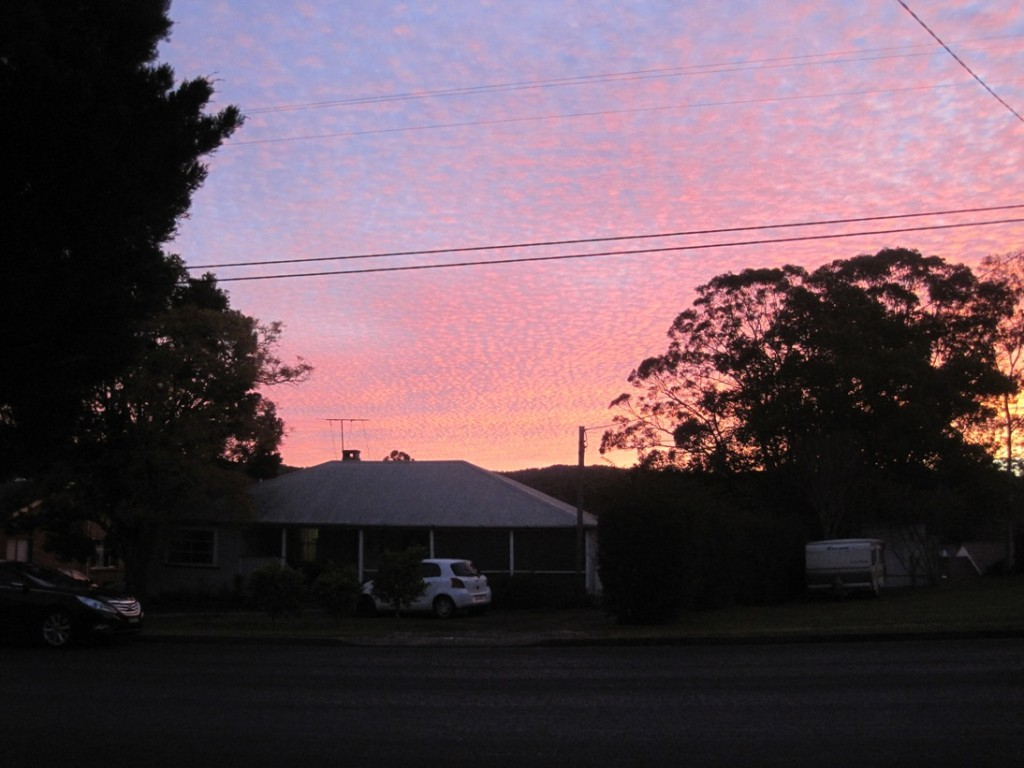 27 July 2014 Sunset Cooranbong (3)